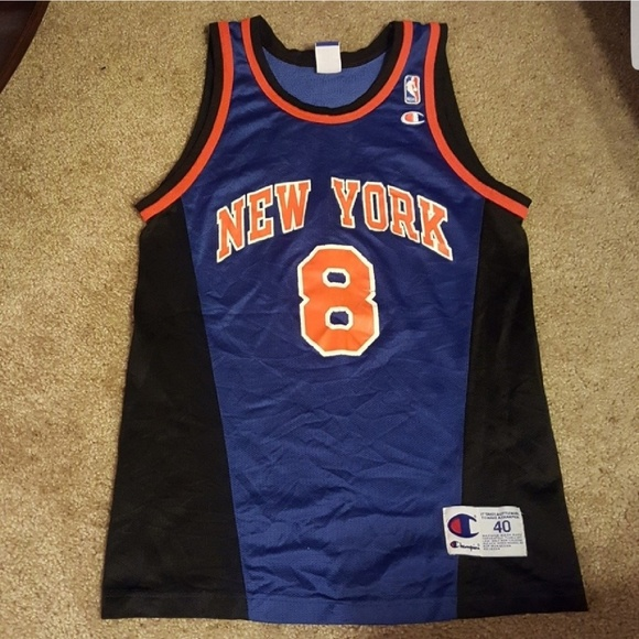 8d4f3221290 Champion Other - Vtg 90s Latrell Sprewell NY Knicks Jersey SZ M